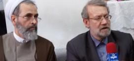 دیدار رئیس مجلس آقای لاریجانی از خانواده مرحوم یحیی زاده